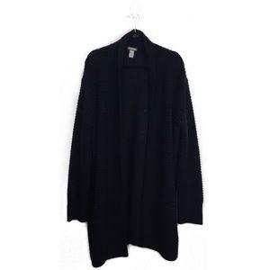 H&M | Black knit cardigan
